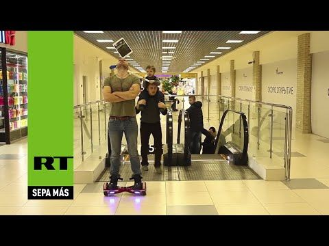 HOVERBOARD ACROBAT V.S. KID WITH STICK