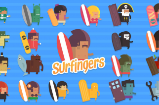 SURFINGERS – for days when you can't catch real waves