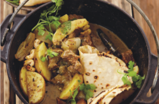 Massaman beef curry potjie